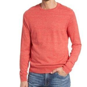 J Crew Cotton Linen Blend Crewneck Sweater Size M